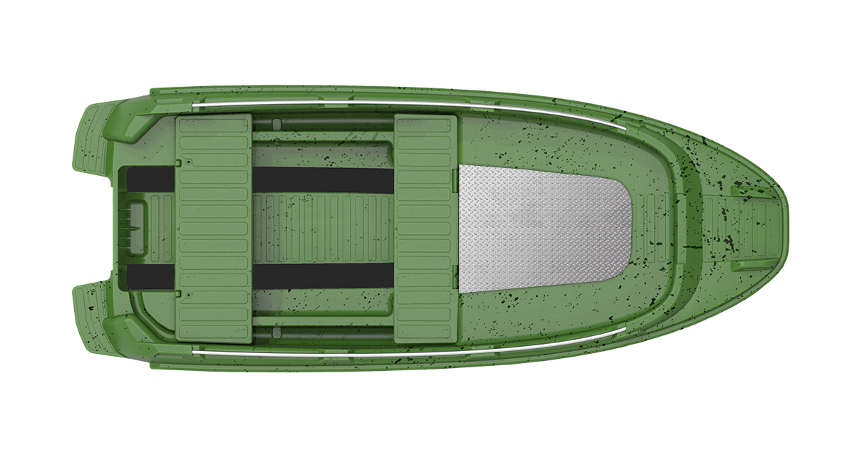 ROTO 450s FISHING green black