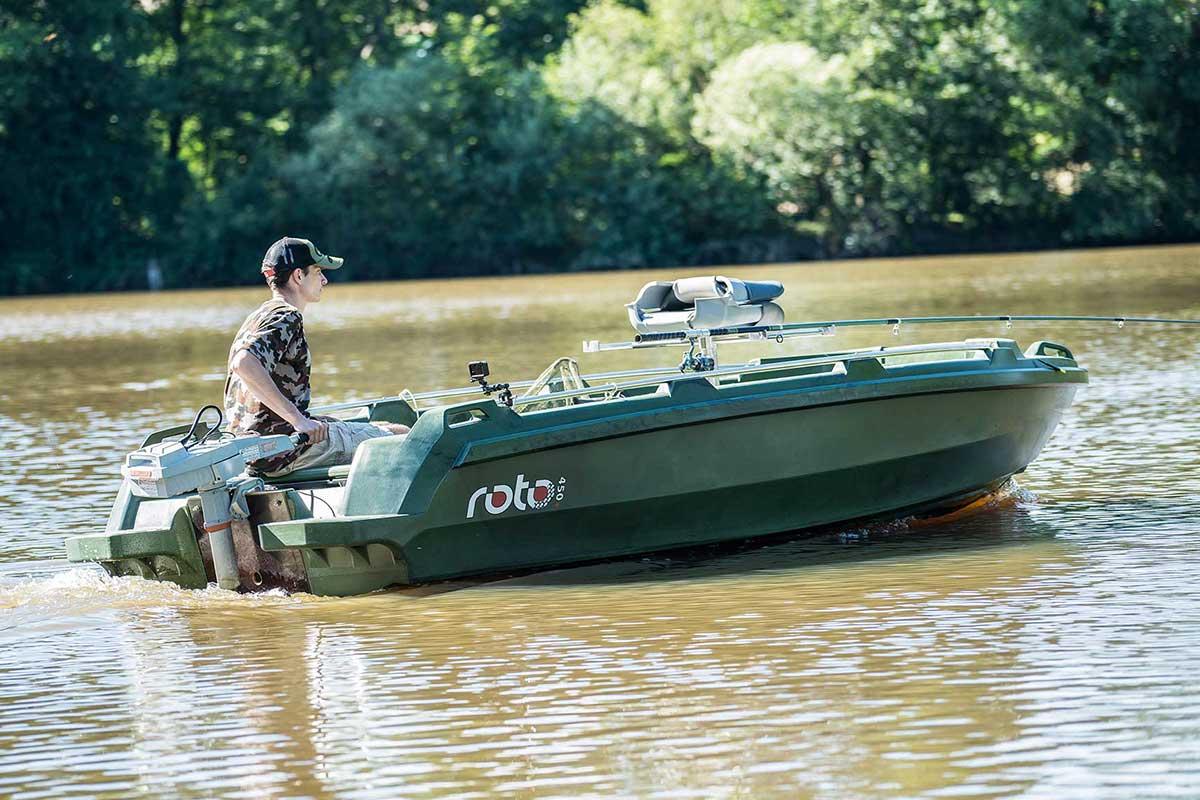 ROTO 450s FISHING
