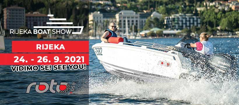 Roto ROTO 450s Sejem Rijeka Boat Show 2021